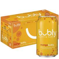 Bubly Sparkling Water, Mango, 12 Fl Oz (pack of 8)