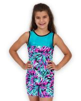Leap Gear Gymnastics Biketards for Girls- from The Affordable Made in USA Brand