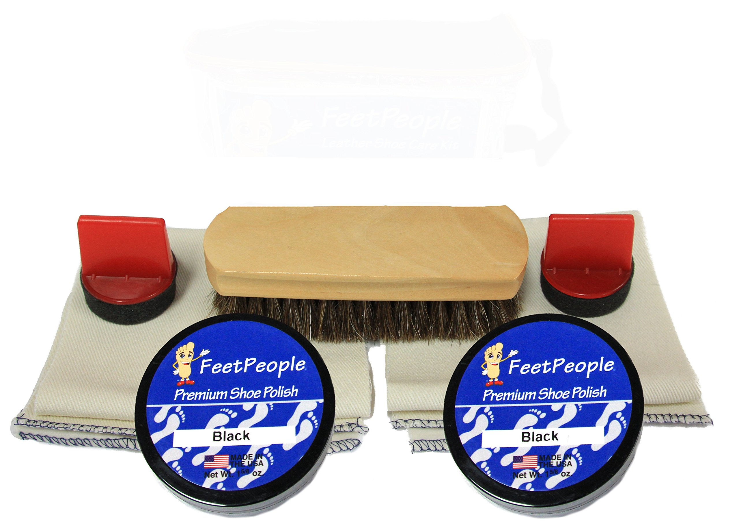 FeetPeople Premium Leather Care Refill Kit