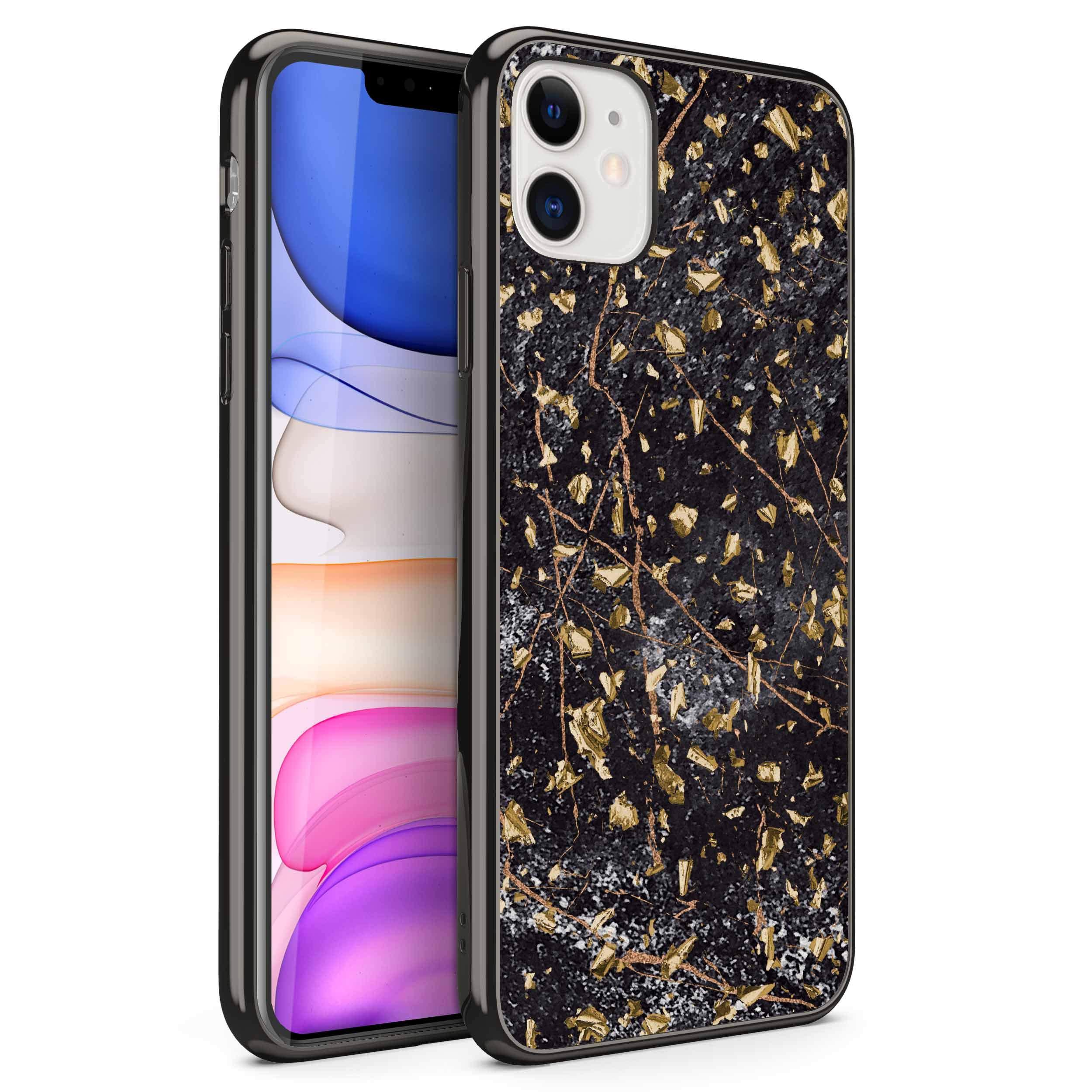 ZIZO Refine Series iPhone 11 Case - Ultra Slim Thin Case - Black Marble