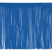 "Expo International 6"" Chainette Fringe Trim Fabric by The Yard, Royal Blue"