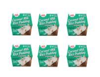 Sun Tropics Coconut Rice Pudding Snack, Original, 12 Count 4.23 oz Cups, Gluten Free, Dairy Free, Vegan, Low Sugar, Non-GMO, Ready-to-Eat
