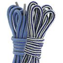 (2 PACK PAIRS) DailyShoes Round Hiking Shoelaces, Strong Durable, Epiphany Leisure