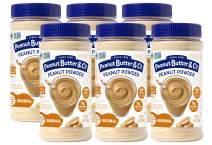 Peanut Butter & Co. Powdered Peanut Butter, Non-GMO, Gluten Free, Vegan, Original, 6.5 Ounce Jars (Pack of 6)