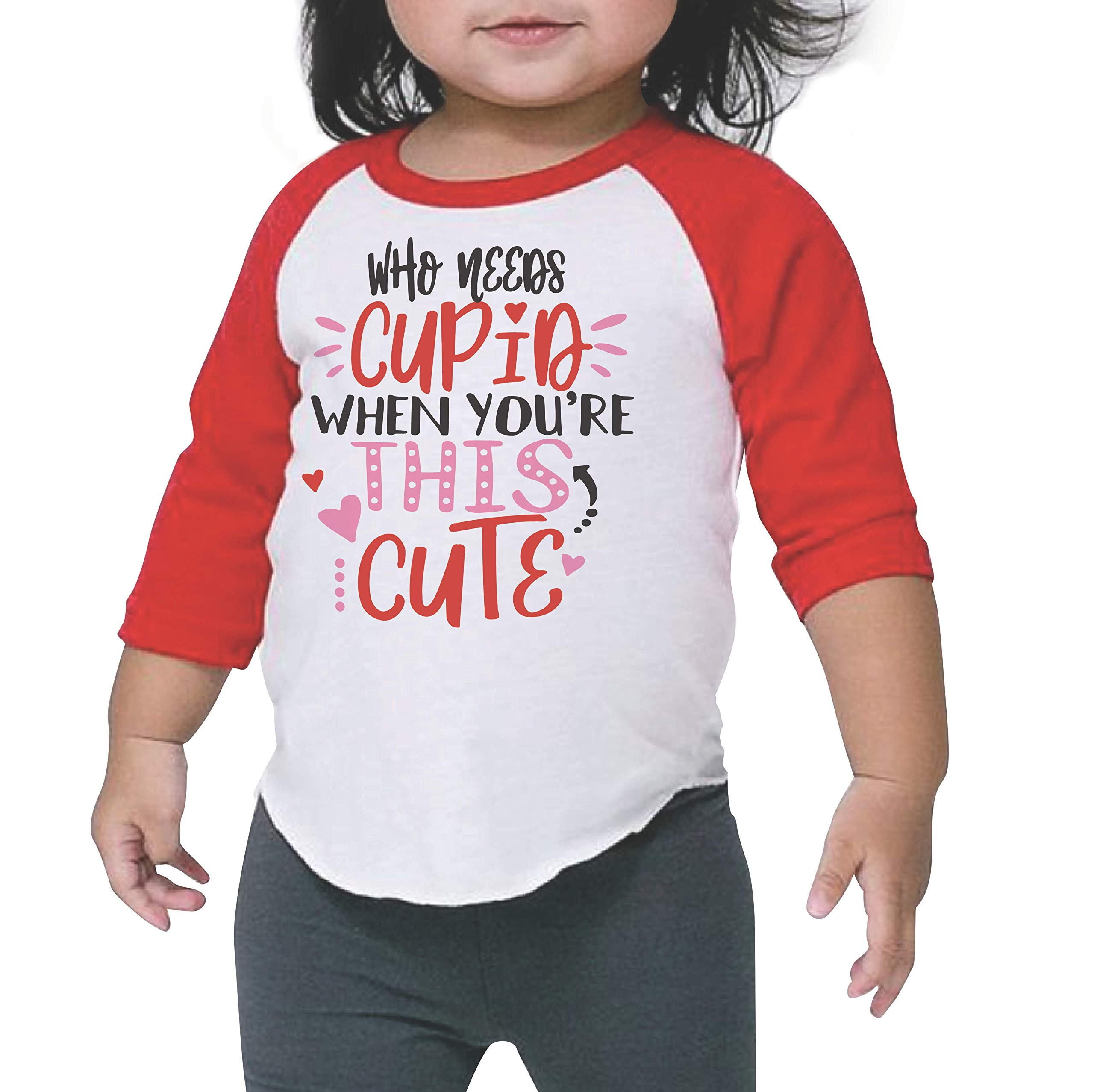 Bump and Beyond Designs Who Needs Cupid When You're This Cute Kids Valentine's Day Shirt