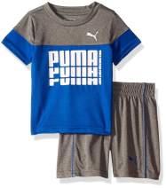 PUMA Boys' 2-Piece Short and Tee Set