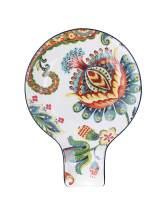 Bico Protea Cynaroides Ceramic Spoon Rest, Dishwasher Safe