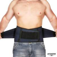"Back Support Lower Back Brace Provides Back Pain Relief - Breathable Lumbar Support Belt for Men and Women Keeps Your Spine Straight and Safe - X-Large Size 46''- 52"" at Navel Level"