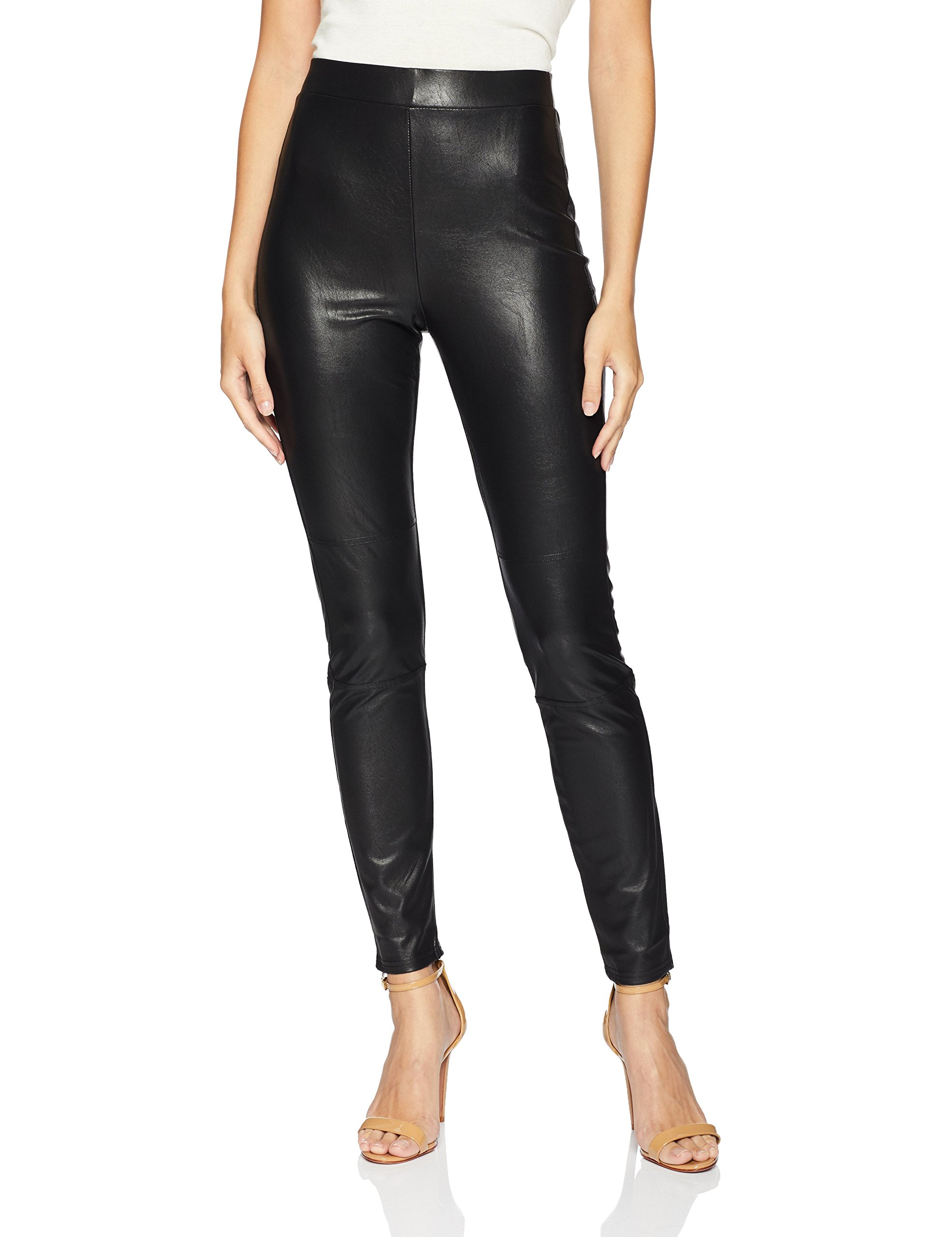 Splendid Women's Downtown Faux Leather Leggings, Black, X-Small