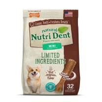 Nylabone Nutri Dent Natural Dental Filet Mignon Flavored Chew Treats
