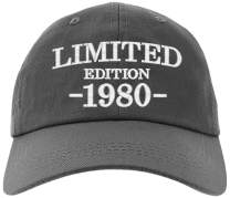 Cap 40th Birthday Gifts, Limited Edition 1980 All Original Parts Baseball Hat