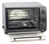 Maxi-Matic Countertop Toaster Oven, 60-Min Timer with Stay-On Function Rotisserie, Bake, Grill, Broil, Roast, Toast, Keep Warm, 23L Capacity, 23 L, ERO-2008N