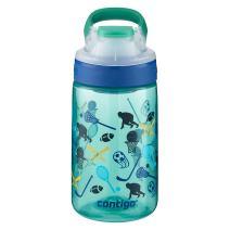 Contigo AUTOSEAL Gizmo Sip Kids Water Bottle, 14 oz, Jungle Green All American