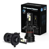 Xtremevision M2 70W 12,000LM - H4/9003 Dual Beam LED Headlight Conversion Kit - 6500K CREE LED - 2019 Model
