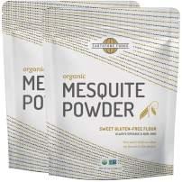 Mesquite Powder Organic | Premium Peruvian Raw USDA & Paleo Certified Vegan Flour - Natural Fiber - Perfect for Smoothies and Baking, 28 Ounces (2 x 14)
