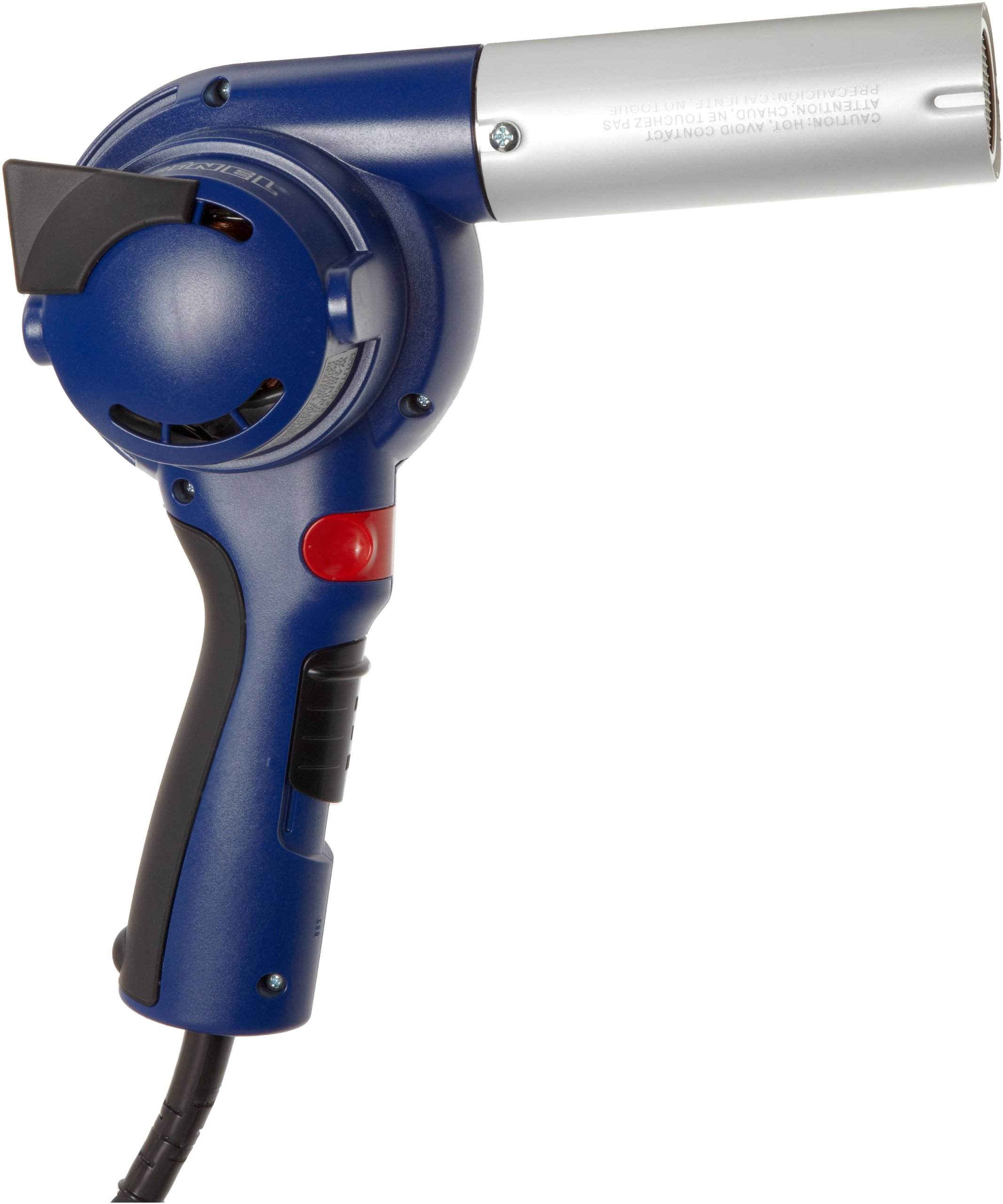 Steinel HB 1750 - Powerful turbine blower with air delivery rate up to 23 cfm, All Color coded keys for the right temperature every time, Maintenance free factory sealed motor, Lightweight, Heat Gun with well balanced design Soft Grip Handle and convenient slide switch , Power Tool includes a Plug-In heating element, 34750