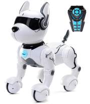 Remote Control Robot Dog Toy, Robots for kids, Rc Dog Robot Toys for Kids 2,3,4,5,6,7,8,9,10 year olds and up, smart & Dancing Robot Toy, Imitates Animals mini Pet Dog Robot