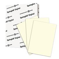 Springhill Cream Colored Paper, 28lb Copy Paper, 104 gsm, 11 x 17 printer paper, 1 Ream / 500 Sheets - Pastel Paper with Smooth Finish (024068R)