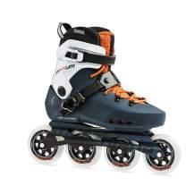 Rollerblade Maxxum Edge 90 Mens Adult Fitness Inline Skate, Sapphire and Orange, Premium Inline Skates