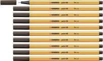 Fineliner - STABILO point 88 Box of 10 Umber