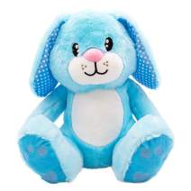 """Scentco Sunny Spring Bunny - Scented Stuffed Animal Gift, 10"""" (Blueberry)"""