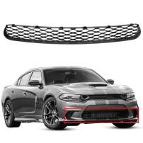Front Lower Grille Grill Assembly CompatibleWith 2015-2019 Dodge Charger SRT Scat Pack Daytona