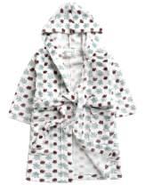 Vaenait Baby Boys Plush Soft Fleece Printed Hooded Beach Cover up Pool Wrap