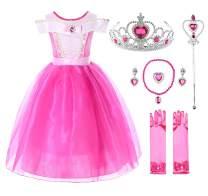 JerrisApparel Girls Princess Costume Dress Pageants Party Fancy Dress