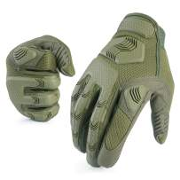 AXBXCX Camouflage Full Finger Protective Gloves for Motorcycles