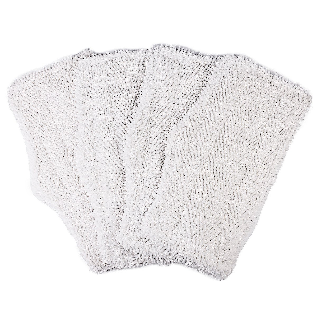 Flammi 4 Pack Replacement Washable Cleaning Pads for Shark Steam & Spray Mop SK410, SK435CO, SK460, SK140, SK141, S3101, S3250, S3251