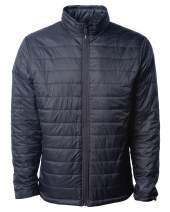 Global Blank Mens Packable Travel Jacket Lightweight Windproof Warm Puffer Coat
