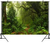 Duluda 10X8FT Seamless Jungle Forest Vinyl Photography Backdrop Customized Photo Background Studio Prop TG04E