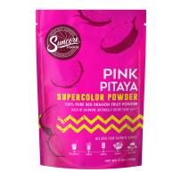 Suncore Foods – Premium Pink Pitaya Supercolor Powder, 5oz each (1 Pack) – Natural Red Dragon Fruit Food Coloring Powder, Plant Based, Vegan, Gluten Free, Non-GMO