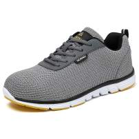 UCAYALI Steel Toe Shoes Work Safety Shoes Men Women Lightweight Breathable Construction Sneakers Puncture Proof Footwear