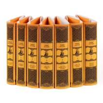 Juniper Books Harry Potter Hufflepuff House Custom DUST JACKETS ONLY (Books Not Included) | for Your Seven-Volume Hardcover Book Set