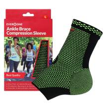 EverOne Ankle Brace Compression Sleeve Unisex, Large