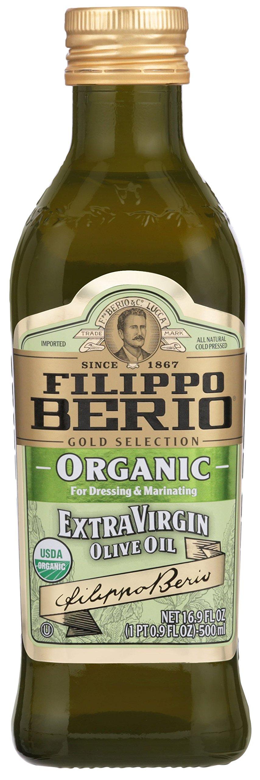 Filippo Berio Organic Extra Virgin Olive Oil, 16.9 Ounce