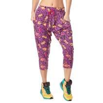 Zumba Fashionable Women's Soft Breathable Activewear Harem Capri Workout Pants