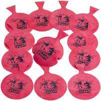 Kicko Miniature Whoopee Cushions - 12 Pack Mini Prank Novelty Toy - Ideas, Party Favor, and Reward - 3 Inch