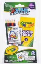 Worlds Smallest Crayola Color Pencil Coloring Book Set, Multi  (548)