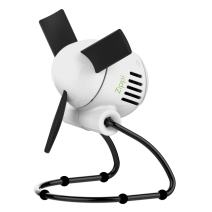 Vornado Zippi Small Personal Fan for Desk, Nightstand, Tabletop, Travel and More, Ice White