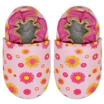 Momo Baby Girls Soft Sole Leather Shoes First Walker Toddler Crib Booties Slippers