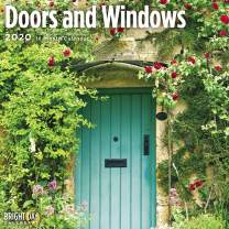 2020 Door and Windows Wall Calendar by Bright Day, 16 Month 12 x 12 Inch, Beautiful Photography Country Side, Art