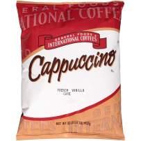 General Foods French Vanilla Cappuccino Bulk Powder (2lb Bags, Pack of 6)