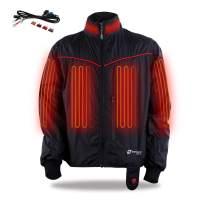 Venture Heat 12V Motorcycle Heated Jacket Liner, 7 Heating Zones, Lite - 42 Watt, Protective Riding Gear, GT1650 (XL)