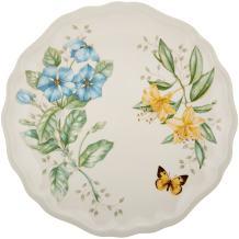 Lenox Butterfly Meadow Melamine Dinner Plate, 0.63 LB, Multi