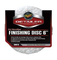 "Meguiar's DMF6 DA 6"" Microfiber Finishing Disc, 2 Pack , White"