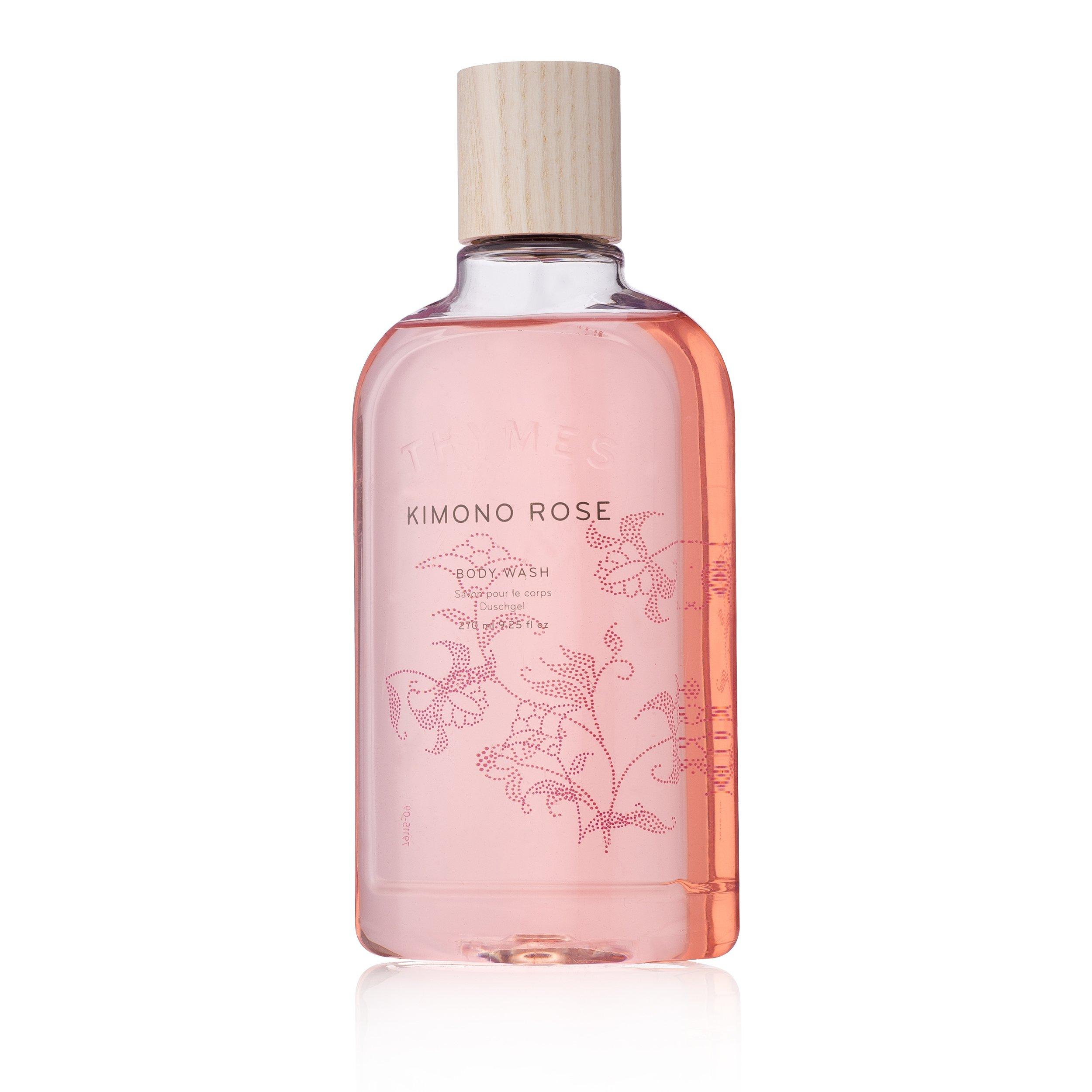 Thymes Body Wash - 9.25 Fl Oz - Kimono Rose