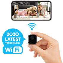 Lilexo Mini WiFi Camera - Wireless Small Home Security Camera, Nanny Cam with Super Night Vision, Motion Detection, Crisp 1080P HD, Live Streaming, Android/iOS App, Indoor & Outdoor Portable Tiny Cam
