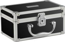 Vaultz Locking Mini Makeup Artist Case, Black (VZ03741)